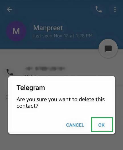 مخاطبان تلگرام